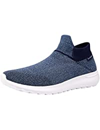 Men's Casual Walking Shoes Lightweight Breathable Slip On...