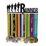 Sports Medal Holder- Runner Medal Hanger-Medal Display - Medal Display Rack for 12 Medals - for Marathon, Running, Race, Sports Medals