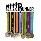 Sports Medal Holder- Runner Medal Hanger-Medal Display - Medal Display Rack for 12 Medals - for Marathon, Running, Race, Sports Medals