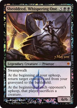 (Magic: the Gathering - Sheoldred, Whispering One - Prerelease & Release Promos - Foil )