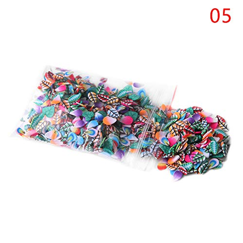 1000Pcs Colorful Stick Decoration Rods Fimo Canes DIY Manicure Nail Art Stickers Polymer Clay