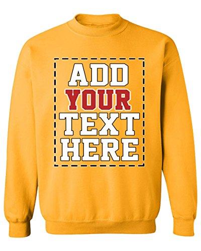Design Your OWN Personalized Sweatshirt - Custom Sweatshirts for Men & Women