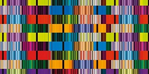 Artland Qualitätsbilder I Bild auf Leinwand LeinwandbilderJule Bunte Streifen Abstrakte Abstrakte Abstrakte Motive Muster Streifen Digitale Kunst Bunt A7RO B07D67X14R | Adoptieren  de4181