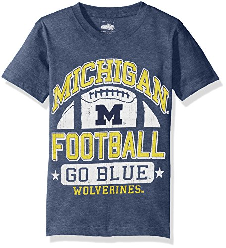 Cotton Willy NCAA Michigan Wolverines Children Boys Short Sleeve Blend Tee, X-Large, ()