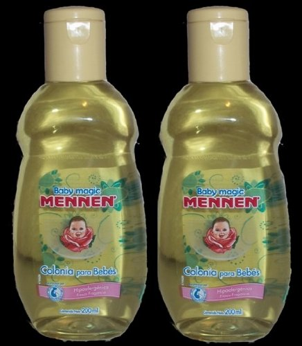 2 Baby Magic Mennen Cologne 6.76 Fl Oz (2 Colonias Mennen para Bebe 200 ml) by Baby Magic by Mennen