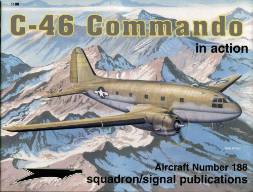 C-46 Commando in action - Aircraft No. 188