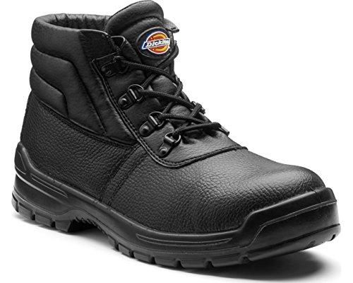 II Redland Mens de transpirable puntera acero de seguridad botas negro piel Dickies fUOxwqAq