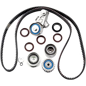 amazon com  eccpp timing belt kit fits subaru 2 2 ej22 2 5