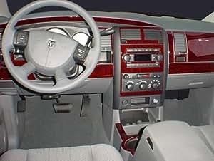 dodge durango interior burl wood dash trim kit set 2004 2005 2006 2007 automotive
