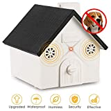 ELenest 2019 New Anti Barking Device, Bark Box Outdoor Dog Repellent Device with Adjustable Ultrasonic Level Control Safe for Dogs, Sonic Bark Deterrents, Bark Control Device