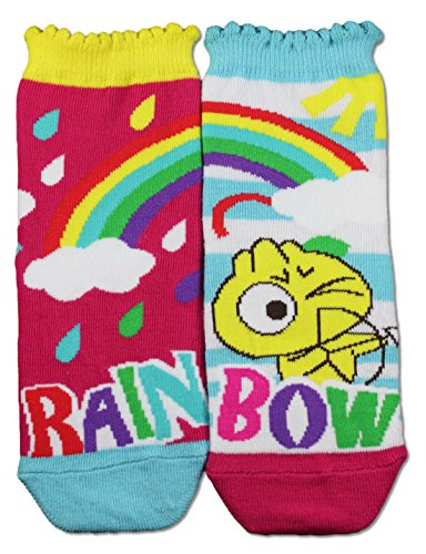 Price comparison product image Gama Family Word Learning Unisex Children Socks - Teach Compound Word Rainbow