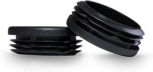 Prescott Plastics 1 3/4 Inch Round Plastic Plug, Pipe Tubing End Cap, Durable Chair Glide (4)