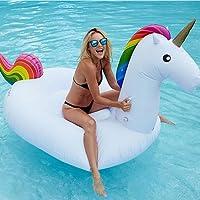 Juguete hinchable flotante gigante del unicornio Piscina Cama flotante Unicornio General y adulto y anillo de la natación del niño y silla de la recreación del agua - Dracarys (Pequeña)