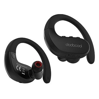dodocool – Auriculares Bluetooth, estéreo inalámbricos deportes auriculares in-ear con IPX5 A prueba