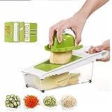 AMAMDOOG Adjustable Vegetable Slicer,Mandoline Spiralizer,Cheese...