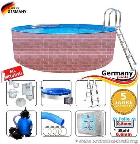 Juego completo de piscina de 3, 5 x 1, 2 m, piscina de jardín, piscina, piscina, piscina, piscina, piscina, piscina, piscina, piscina, piscina, piscinas redondas, piscina, ladrillos, piscinas redondas: Amazon.es: Jardín