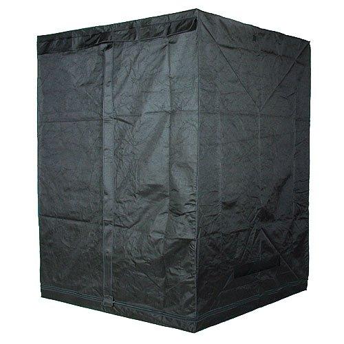 LEDwholesalers GYO1014 78-Inch x 60-Inch x 60-Inch Mylar Reflective Hydroponic Grow Tent
