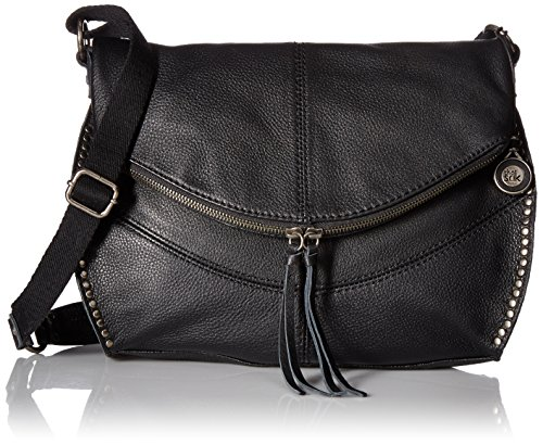The Sak Silverlake Messenger Bag, Black,One Size