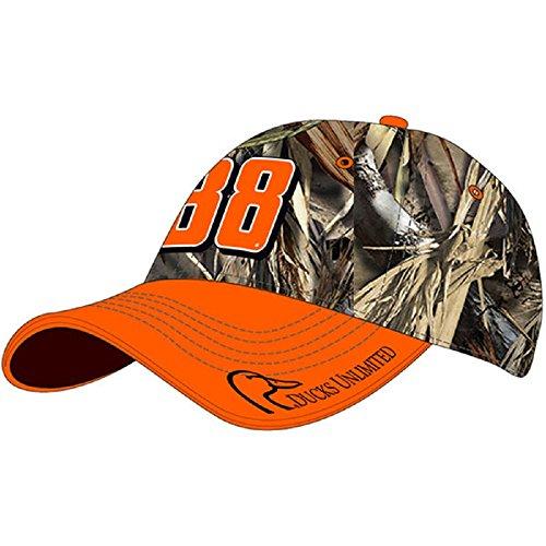 Dale Earnhardt Jr True Timber Ducks Unlimited Camo Adjustable Nascar Cap / Hat - Nascar Camouflage Hat
