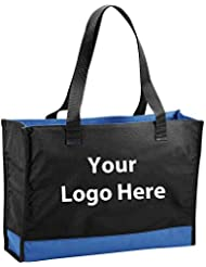 Colorband Carry All Tote All Tote 96 Quantity 5 65 Each PROMOTIONAL PRODUCT BULK BRANDED With YOUR LOGO CUSTOMIZED