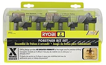 Ryobi A9FS7 7-piece Forstner Bit Set
