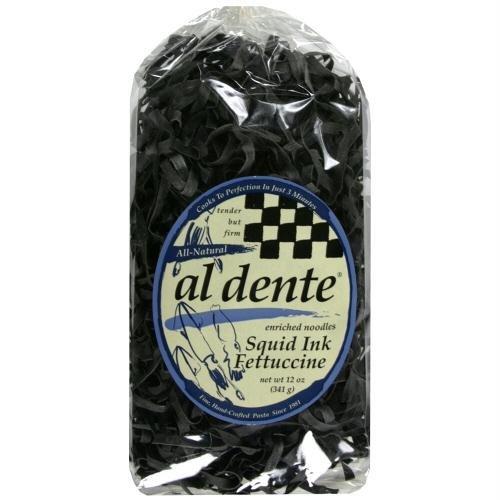 Al Dente Pasta Fettuccine Squid Ink, 10 oz
