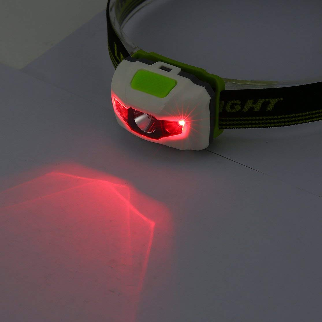 Candybarbar LED Linterna antorcha Faro l/ámpara CE Camping Inducci/ón Faro con Pilas para Acampar Senderismo Pesca al Aire Libre