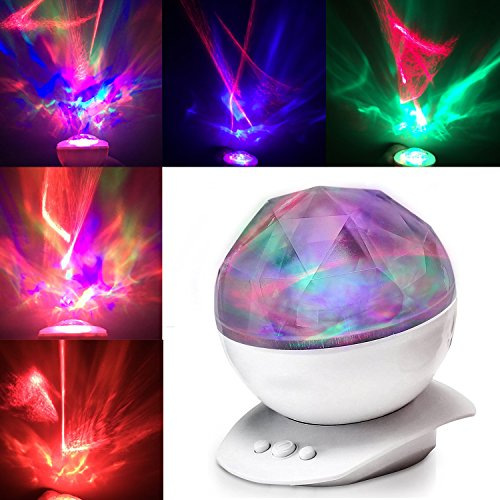 Aurora Projection Color Changing Sleep Soother With