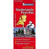 Niederlande (Michelin Nationalkarte)
