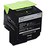 Lexmark 70C1XK0 Black Extra High Yield Return Program Toner Cartridge for Lexmark CS510de and Lexmark CS510dte
