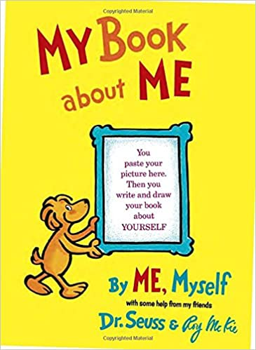 My Book About Me: Dr. Seuss, Roy McKie: 0038332269970: Amazon.com ...