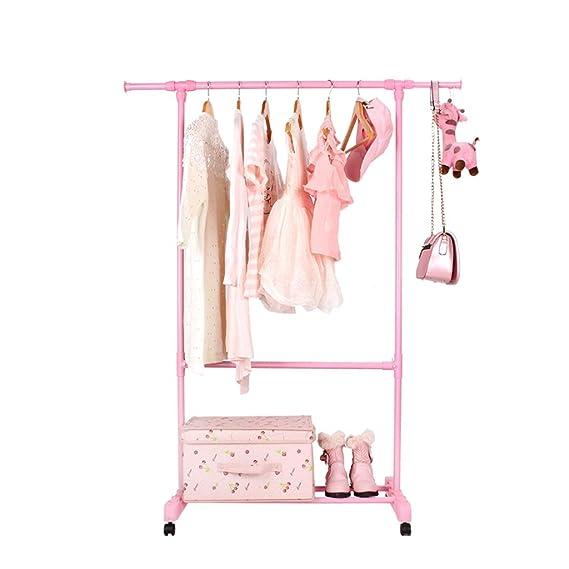 YOUjU YX Shop® Floor Coat Rack, Hanger with Shoe Rack ...