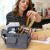Everything Mary Collapsible Craft Caddy, Grey - Art