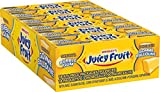 Juicy Fruit Original Bubble Gum Chunk, 18 Count