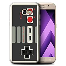 STUFF4 Gel TPU Phone Case / Cover for Samsung Galaxy A5 (2017) / Nintendo Classic Design / Games Console Collection