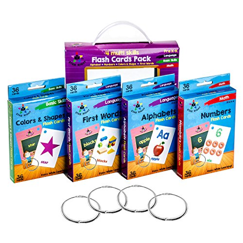 Best toddler flash cards ages 1-2 ring for 2019