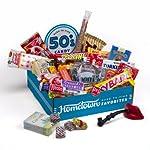 Hometown Favorites 1950's Nostalgic Candy Gift Box, Retro 50's Candy by Hometown Favorites
