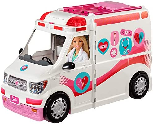 Barbie FRM19 – 2-in-1 Krankenwagen