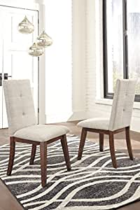 Centior Casual Stone Color Fabric Dining Upholstery Side Chair (Set of 2)