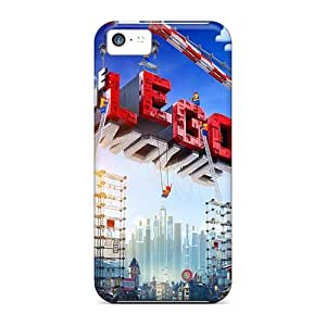 Iphone 5c BEa12992JLnA Custom Colorful The Lego Movie Skin Shock Absorption Hard Phone Cases -no1cases