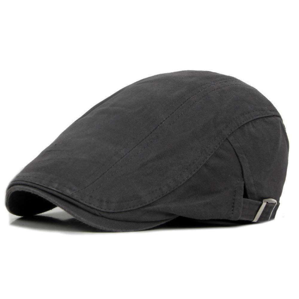 KFEK Sombrero de algodón Estilo británico Color sólido Pato Lengua ...