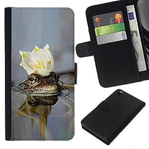 All Phone Most Case / Oferta Especial Cáscara Funda de cuero Monedero Cubierta de proteccion Caso / Wallet Case for HTC DESIRE 816 // cvetok korona voda