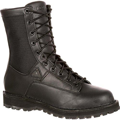 Rocky Men's 8 Inch Portland 2080 Work Boot,Black,12 M ()