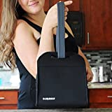 Neoprene Lunch Bag By GRUB2GO | Compatible With Most Lunch & Bento Boxes
