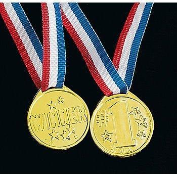 Winner award medals - 72 pc bulk wholesale lot (2 PACK)