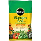 Miracle-Gro Garden Soil for Flowers and Vegetables, 1-Cubic Foot (currently ships to select Northeastern & Midwestern states) (Discontinued by Manufacturer)
