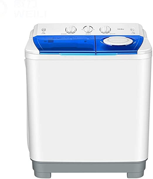 Lavadora Se lavó con 10 kg de Fuerte Poder Semi-automática bañera ...