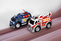 Toystate Road Rippers Preschool Radio Control Rush and Rescue: Fire Ladder Truck