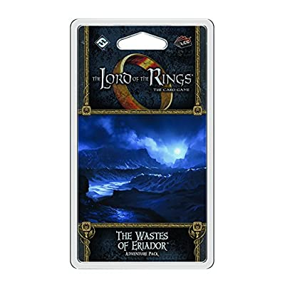 Fantasy Flight Games Lord of the Rings LCG The Wastes of Eriador: Toys & Games