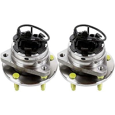 Prime Choice Auto Parts HB613216PR Front Pair 2 Wheel Hub Bearing Assemblies 5 Stud